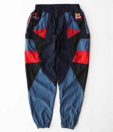 HURRAY HURRAY Composition Sports Nylon Pants [C]