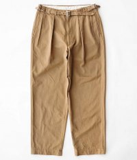 KAPTAIN SUNSHINE Tapered Gurka Trousers [KHAKI]
