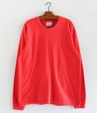 CURLY HELICAL LS TEE [RED]