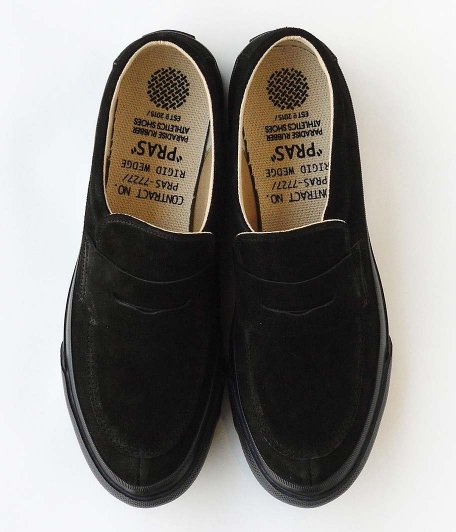 PRAS COMFY LOAFERS [BLACK / BLACK]