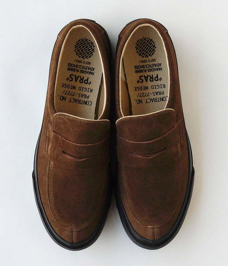 PRAS COMFY LOAFERS [BROWN / BLACK]
