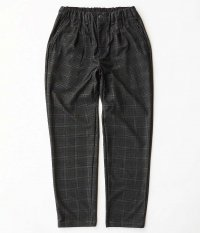 CURLY CRUST CH EZ TROUSERS [GLEN CHECK]