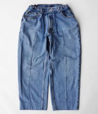 Customized by RADICAL Stitch Press EZ Denim Pants [INDIGO]