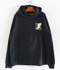 HURRAY HURRAY WINGFOOT HOODIE [BLACK]