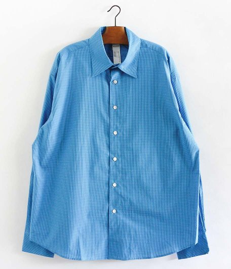 KAIKO LARGER CHECK SHIRT [BLUE]
