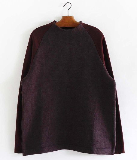 CURLY KIPS BTL SWEAT [BURGUNDY]