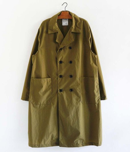 H.UNIT STORE LABEL Nylon French Coat [KHAKI]