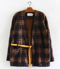 CURLY HOXTON NC CARDE [BROWN CHECK]