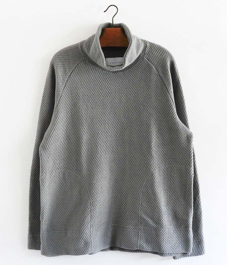 CURLY CLOUDY MOC NECK [GRAY]
