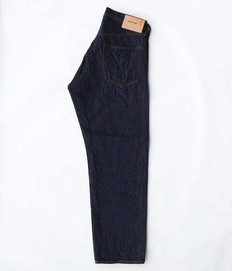 ANACHRONORM Type-α Basic Tapered Jeans [INDIGO / ONE WASH]