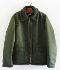 NECESSARY or UNNECESSARY BOMBER NYLON [OLIVE]