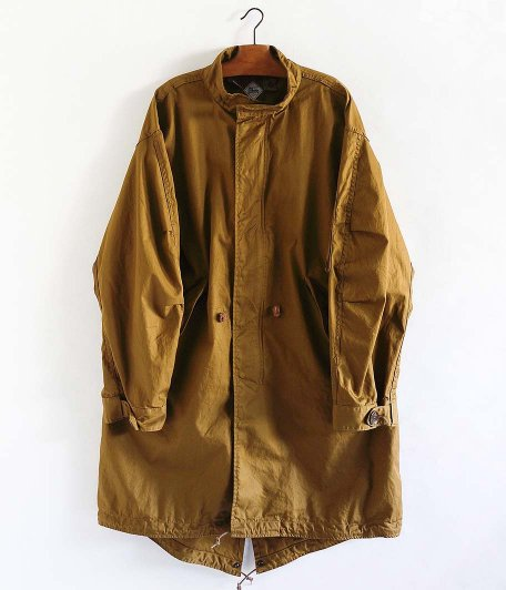 CORONA M-51PK MODY COAT [AMT HIGH DENSITY GABARDINE / DARK CAMEL]