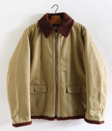 NECESSARY or UNNECESSARY BOMBER COTTON [BEIGE]