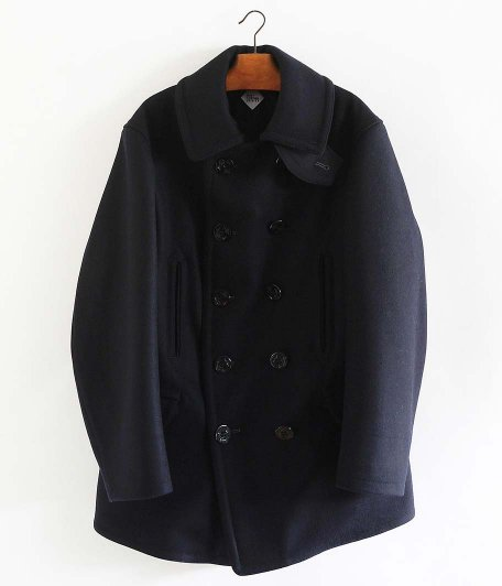 CORONA SEAMEN'S COAT [CASHMERE FRENCH MELTON /MIDNIGHT NAVY]
