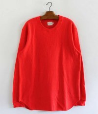 CURLY NOMADIC LS TEE [INK RED]