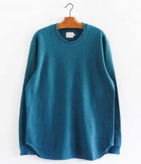 CURLY NOMADIC LS TEE [INK BLUE]