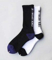 NEMES TWILIGHT SOCKS [BLACK / WHITE]