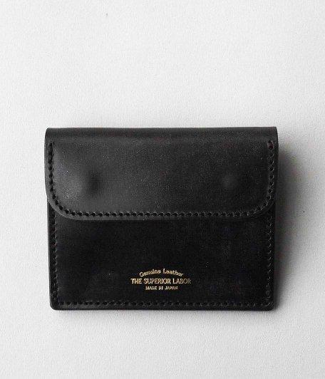 THE SUPERIOR LABOR Bridle Coin Pocket [BLACK]