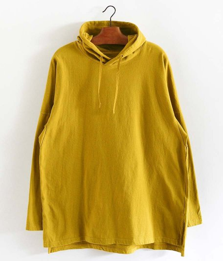 CURLY FROSTED LS PARKA [SAFFRON YELLOW]
