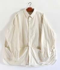 Fresh Service Tool Pocket Regular Collar Utility Shirt [IVORY]