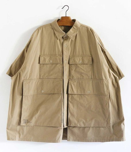Fresh Service Five Pocket Shirt [BEIGE]