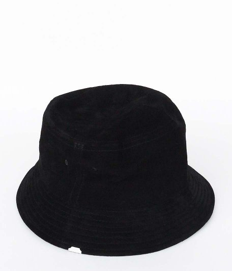 VOO SUEDE HAT HAT by DECHO [BLACK]