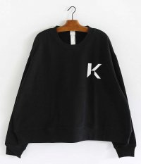 KAIKO OBLONG SWEAT [BLACK]