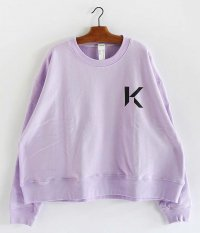 KAIKO OBLONG SWEAT [L.PURPLE]