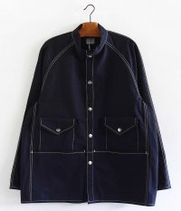 NECESSARY or UNNECESSARY GARAGE GAWN [NAVY]