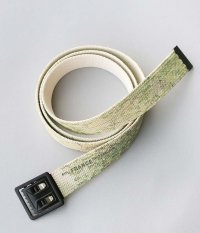 H.UNIT World map print belt [WORLD MAP]