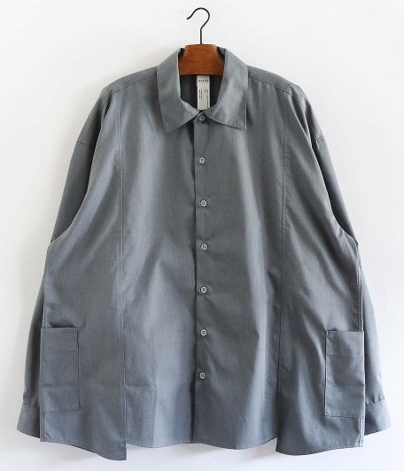 KAIKO BUG WORKER SHIRT [GRAY]