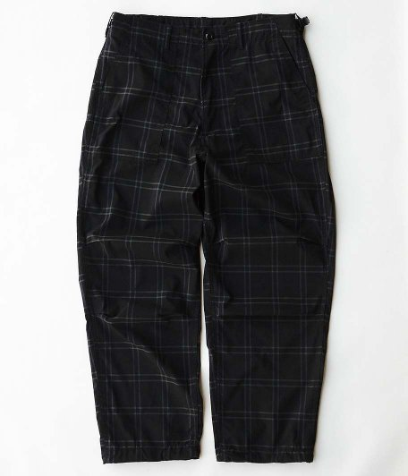 CORONA RADICAL 別注 AGGRESSOR SLACKS [COOLMAX RIPSTOP / BLACK CHECK]