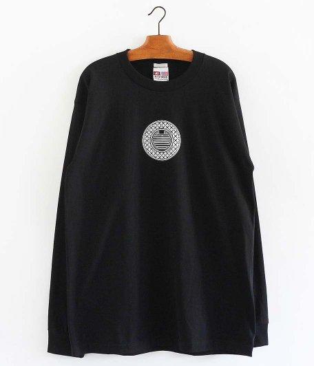 SOWBOW 中華ロゴタイプ 長袖Tシャツ [BLACK]