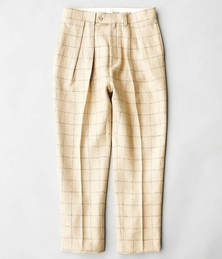 NEAT Linen Wash Pain TAPERED [BEIGE]