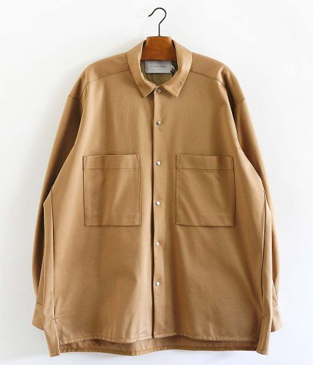 CURLY CLOUDY LS SHIRTS [BEIGE]