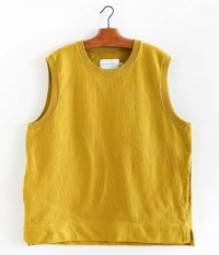 CURLY AZTEC CN VEST [SAFFRON YELLOW]