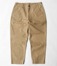 ANACHRONORM Standard Tapered Trousers [BEIGE]