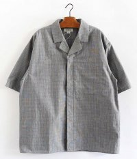tone FLY FRONT SHIRT [CHECK]