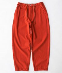 CURLY BRACE WIDE EZ TROUSERS [ORANGE]