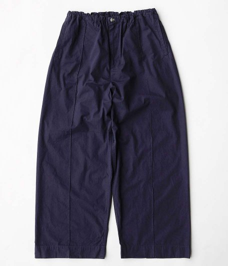 NECESSARY or UNNECESSARY PIN TUCK LONG [NAVY]