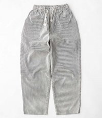 H.UNIT STORE LABEL Cord Stripe Easy Cook Pants [OFF WHITE]