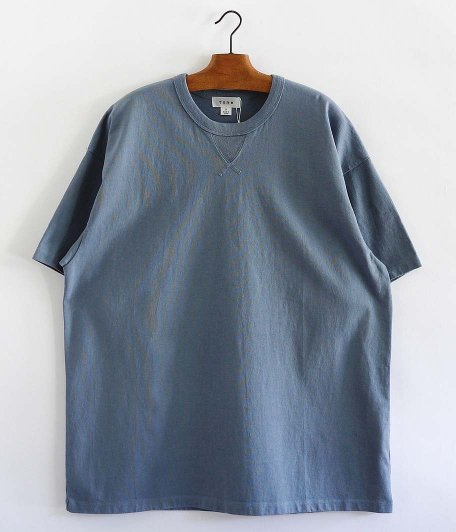 tone 3 Stitch Tee [BLUE GRAY]