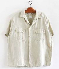 NECESSARY or UNNECESSARY TWO POCKET SHIRT LINEN [NATURAL]