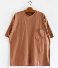 ANACHRONORM Standard Crew Neck S/S T-S [BROWN GRAY]