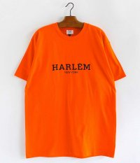 SECOND LAB HARLEM T-Shirt [ORANGE]