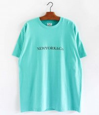 SECOND LAB NEW YORK & Co. T-Shirt [BLUE]