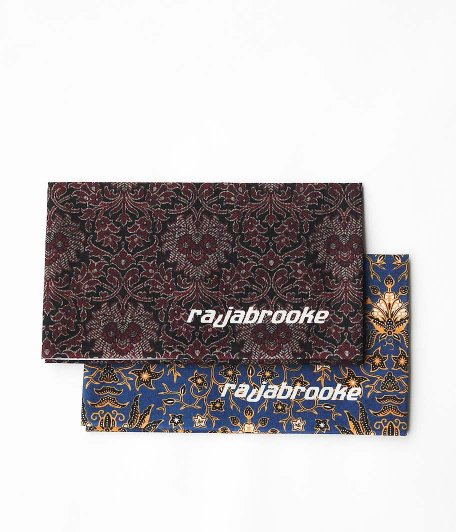RAJABROOKE Asian Batik Tenugui [BLUE / RED]