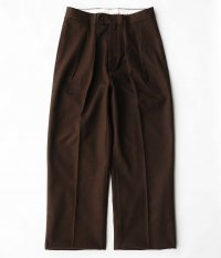 NEAT Cotton Kersey WIDE [BROWN]