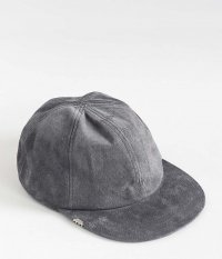 VOO Leather Cap by DECHO [GRAY]