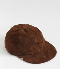 VOO Leather Cap by DECHO [BROWN]